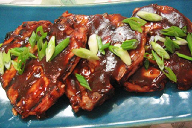 Côtelettes de porc à la cannelle et à l'érable Image 1