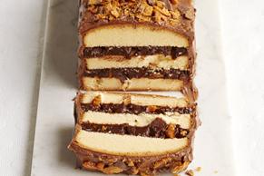 Candy Bar Layer Cake