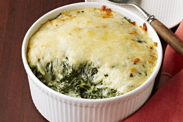 Creamed Spinach Alfredo Casserole Image 1