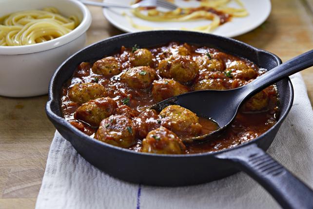 Poêlée de boulettes de viande à la sauce Classico Image 1