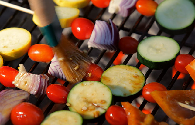 LEA & PERRINS Grilled Vegetable Kabobs