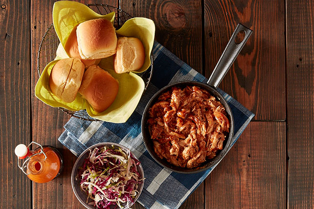 Pulled BBQ Chicken Sliders Image 1