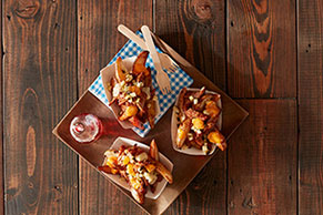 Pulled BBQ Pork Poutine