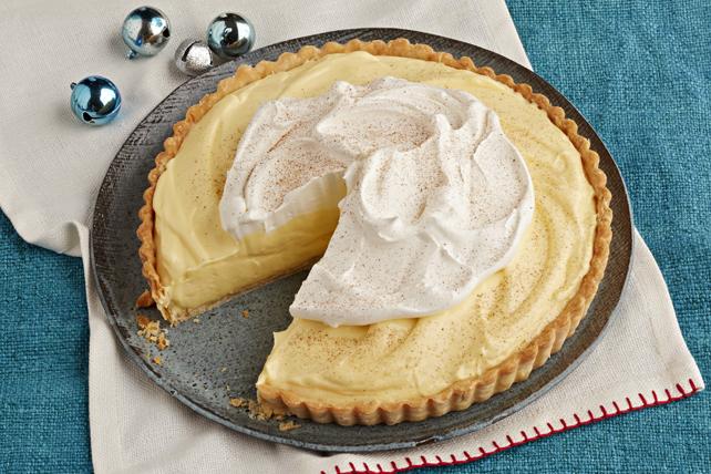 Creamy Eggnog Tart Image 1