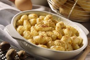 Casserole de gnocchis au fromage et au chou-fleur