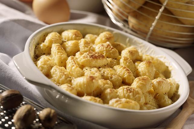 Casserole de gnocchis au fromage et au chou-fleur Image 1