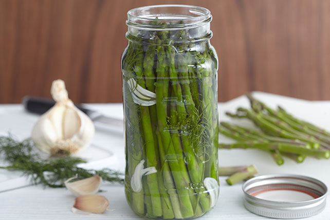 Refrigerated Pickled Asparagus Recipe