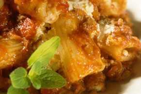 Break-Away Rigatoni Bake