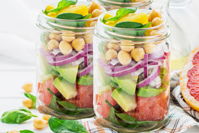 Summer Salad in a Jar
