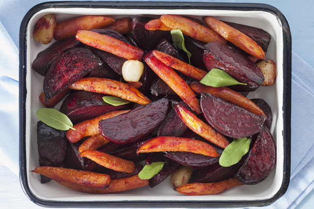 Oven-Roasted Beets & Carrots Image 1