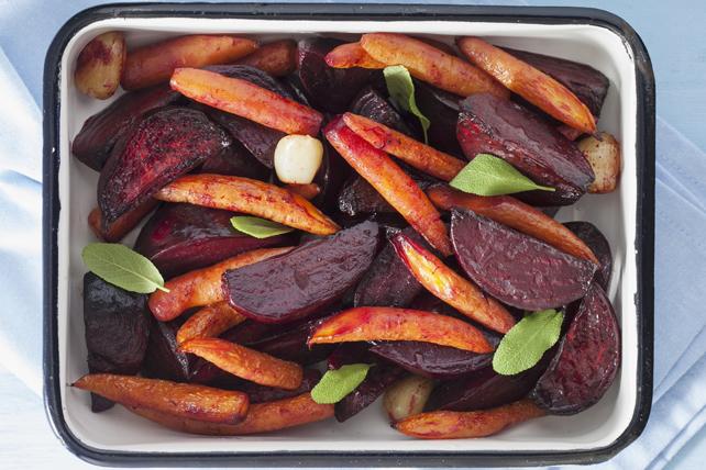 Betteraves et carottes rôties au four Image 1
