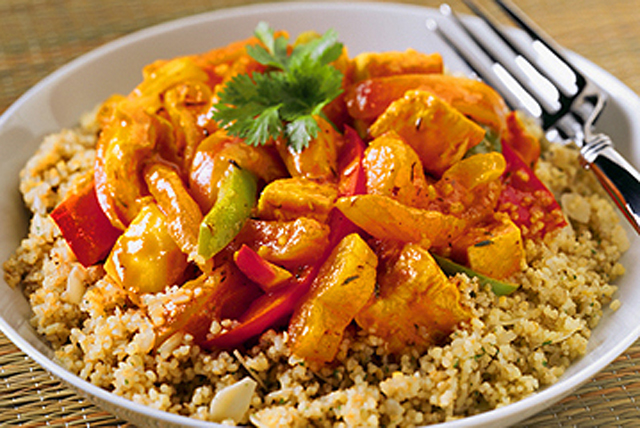 Apricot-Curry Chicken Image 1