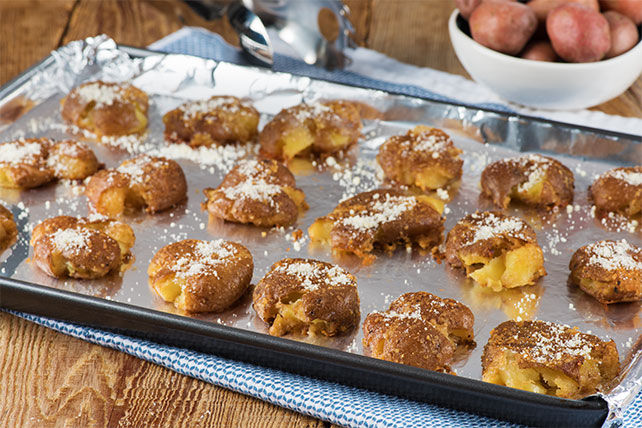 Galettes de pommes de terre au balsamique et au parmesan Image 1