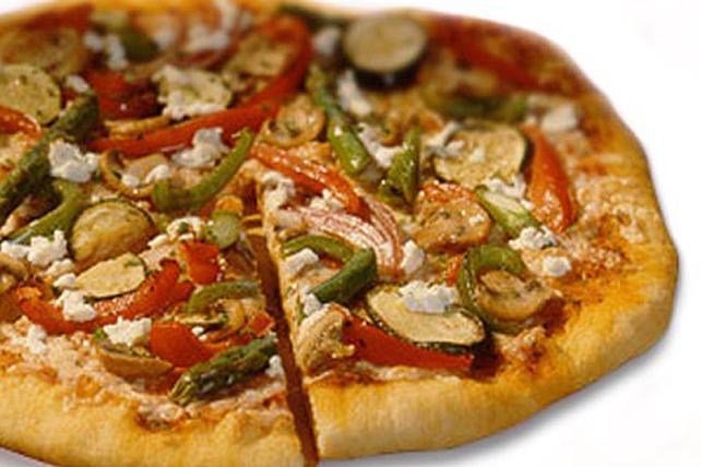 Pizza aux légumes frais grillés Image 1