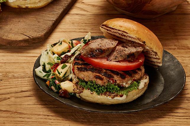 Italian Pork Sausage Burgers Image 1