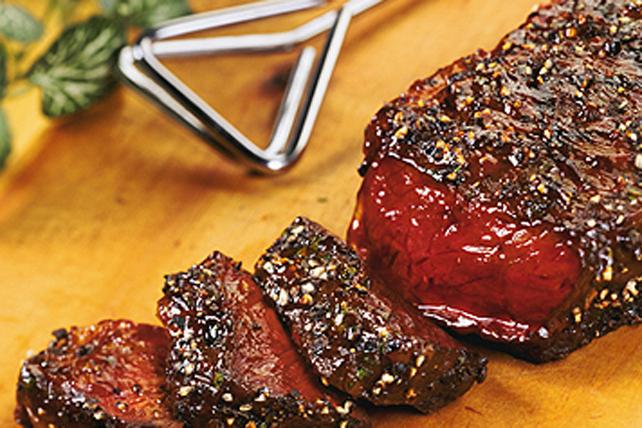 Biftecks au poivre concassé Image 1