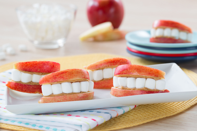 Marshmallow Apple Smiles Image 1