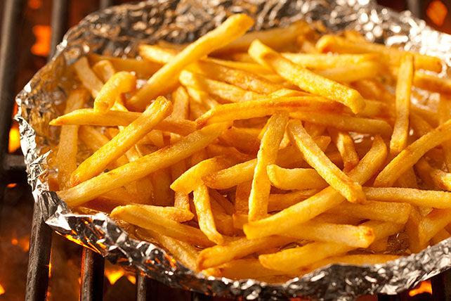 Frites grillées éclair et ketchup Jalapeño Image 1