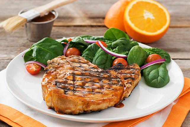 Côtelettes de porc barbecue à l'orange Image 1