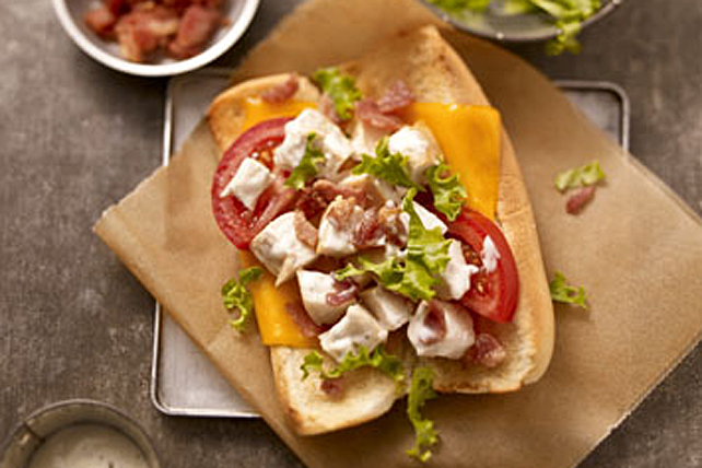 Chicken-Ranch BLT Sandwich Image 1