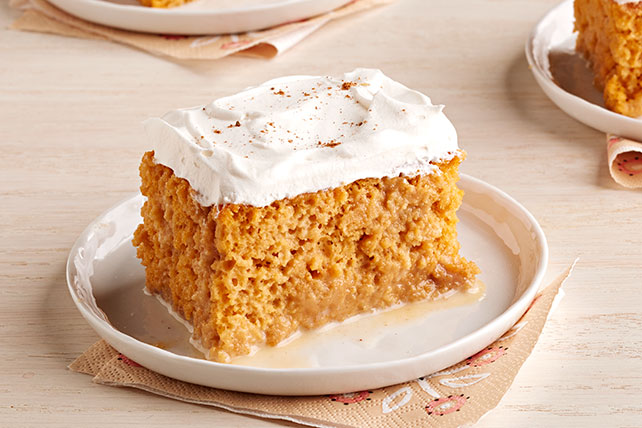 Pumpkin Spice-Tres Leches Cake Image 1