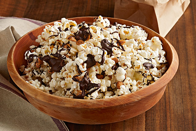 Salted Caramel & Chocolate Popcorn Mix Image 1