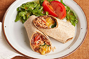 Bean & Cheese Freezer Burritos