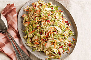 Apple-Brussels Sprouts Salad