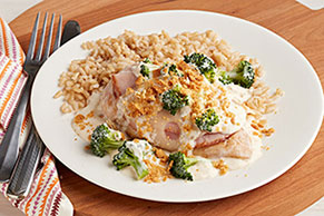 Make-Ahead Swiss, Chicken & Broccoli Casserole