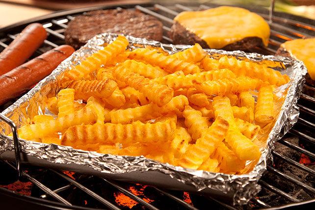 Frites coupe ondulée grillées Image 1