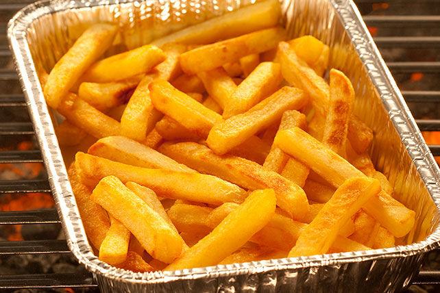 Frites grillées éclair Image 1