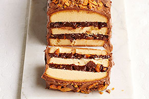 Layered Candy Bar Cake