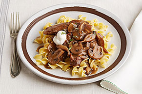 Slow-Cooker Beef Stroganoff Pot Roast