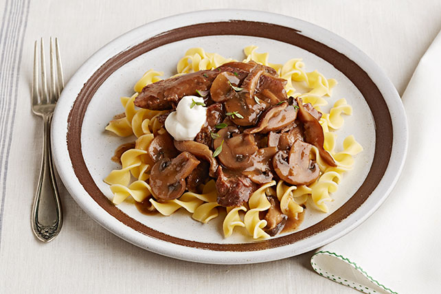 Slow-Cooker Beef Stroganoff Pot Roast Image 1