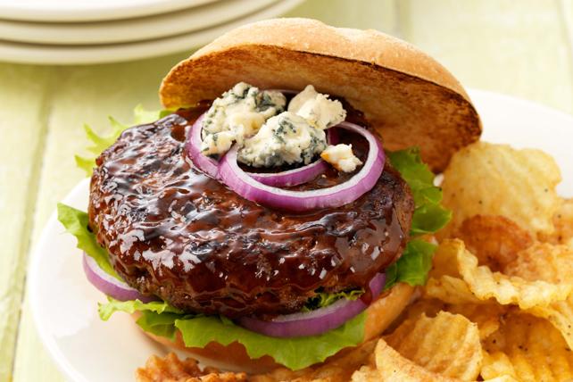 Burgers garnis au fromage bleu Image 1