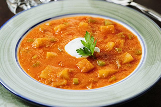 Soupe éclair aux pommes de terre Image 1