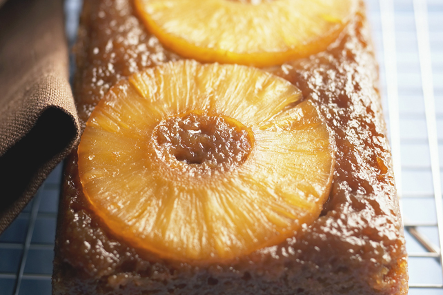Pineapple-Banana Upside-Down Cake Image 1