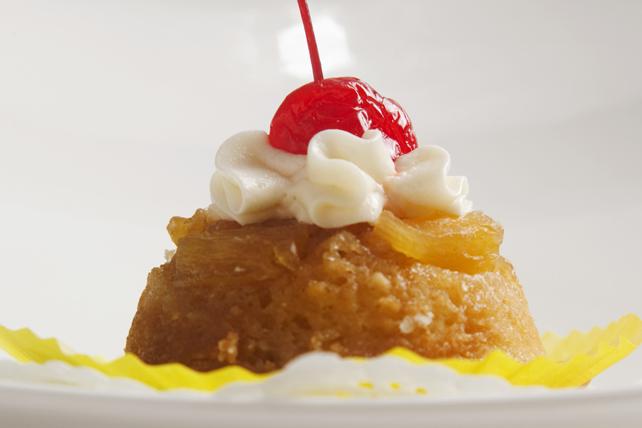Petits gâteaux renversés à l'ananas Image 1