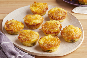 Mini Hash Brown Frittatas