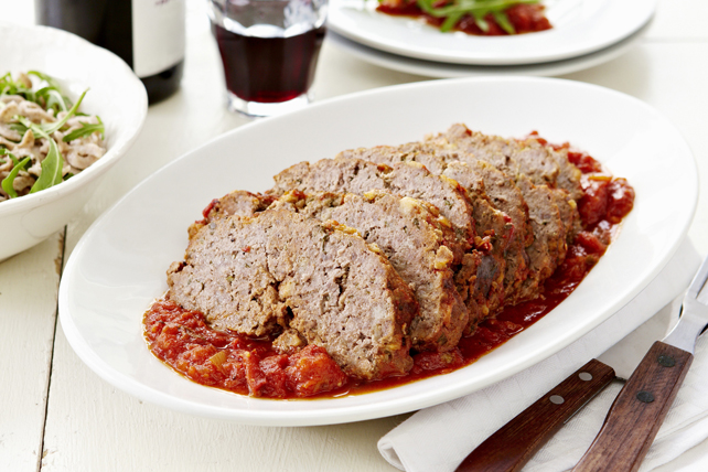Meatloaf with Tomato Sauce Image 1