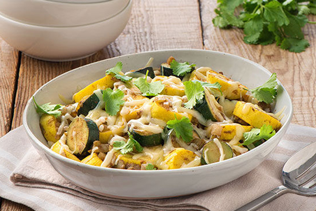 Cheesy Zucchini Image 1