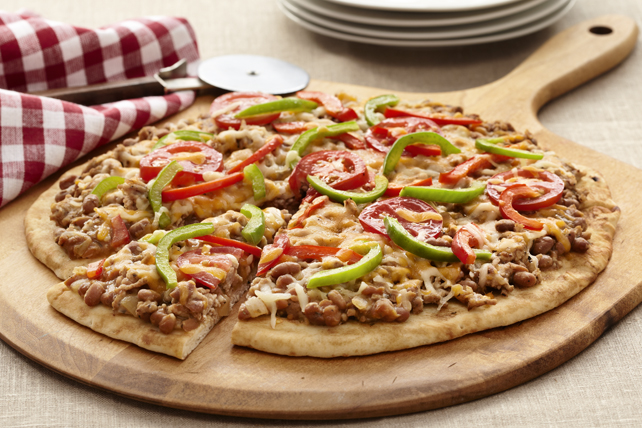 Beef 'n Bacon Pizza Image 1