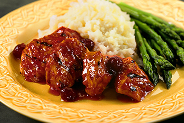 Orange-Cranberry Turkey Medallions Image 1