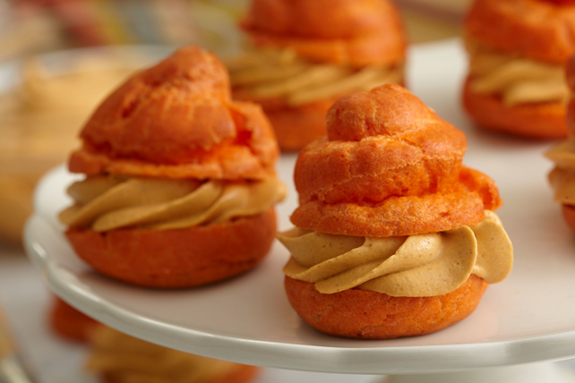 Pumpkin Cream Puffs Image 1