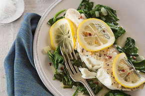 Easy Lemon Halibut