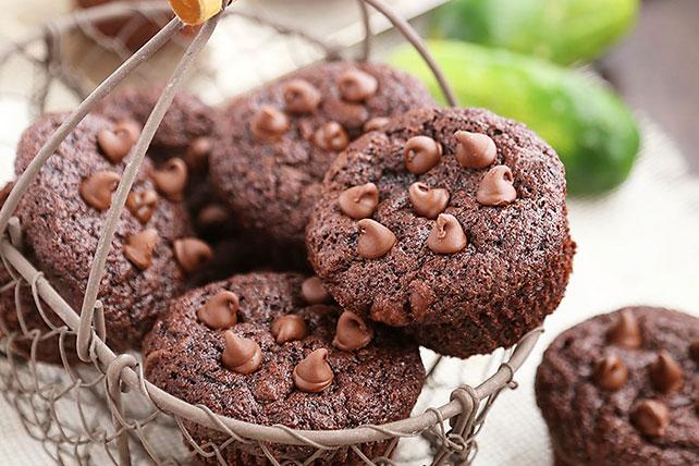 Double Chocolate Zucchini Muffins Image 1