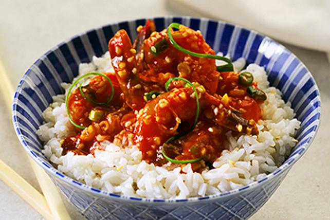 Crevettes en sauce au sésame toute simple Image 1