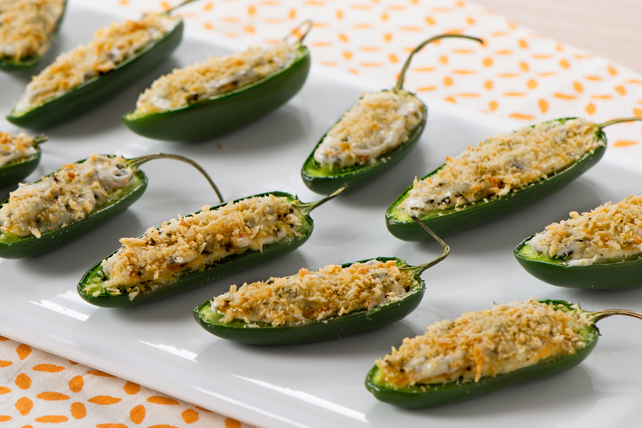 Stuffed Jalapeño Poppers