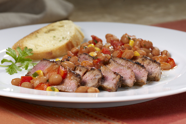 Tex-Mex Steak and Beans Image 1
