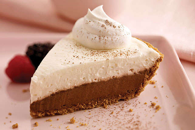 Double-Chocolate Pie